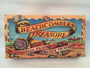 BEACHCOMBER-039-S-TREASURE-Seashell-Picture-Frames-to-Make