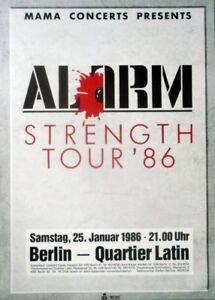 ALARM-1986-Konzertplakat-Concert-Strength-Tourposter-Berlin