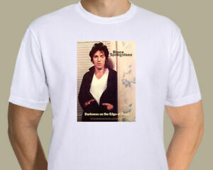 Bruce Springsteen - 1978 Darkness On The Edge Of Town poster on T-shirt
