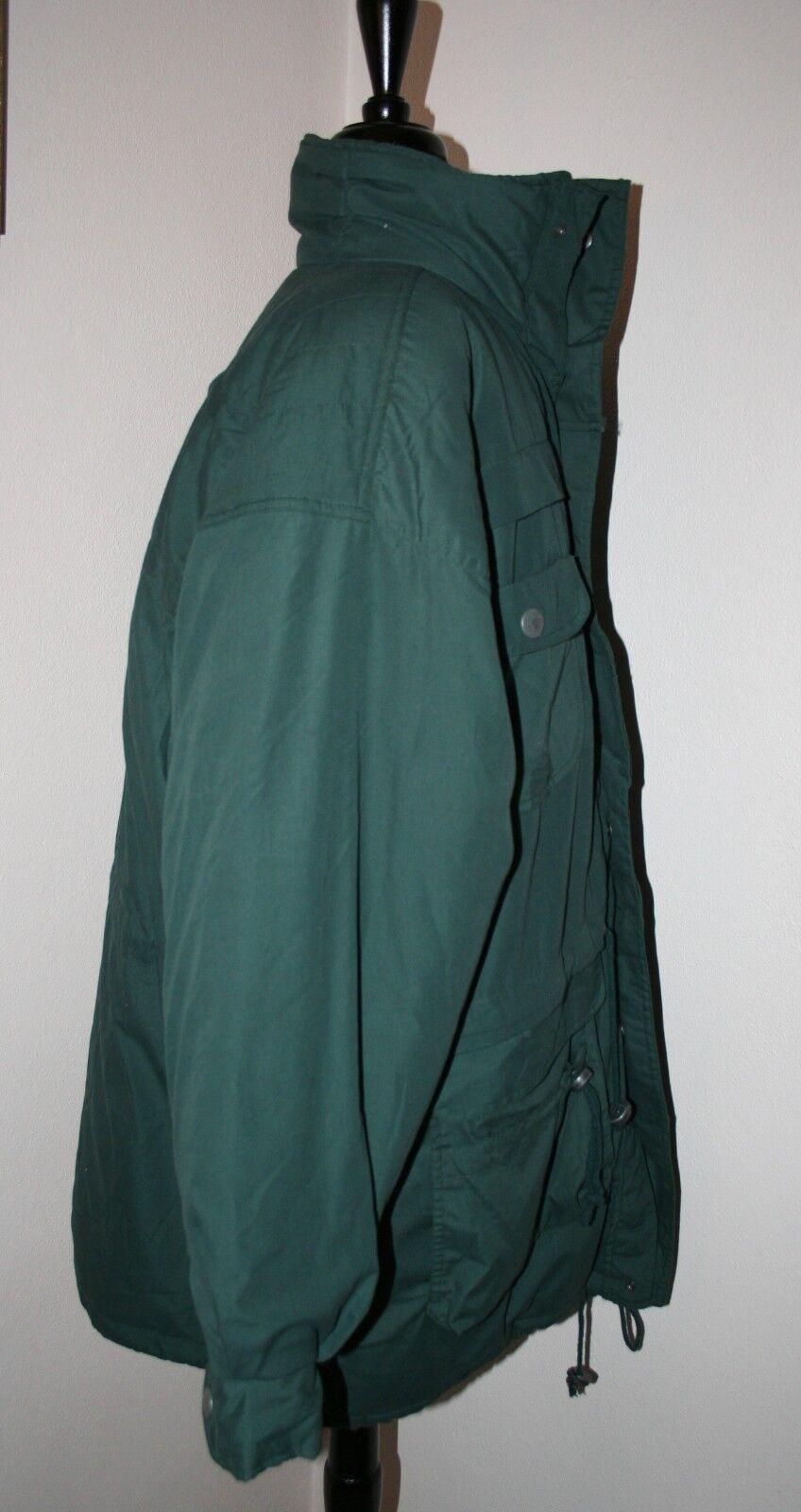 Men's Duffel Coat Parka LARGE Green Threads Unlim… - image 4