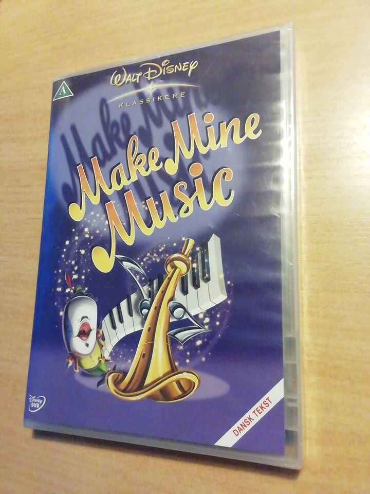 Make mine Music, instruktør Disney, DVD