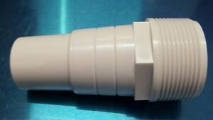 Pentair 510166 White Hose Adapter Replacement Pool Spa Filter And Skimmer Ebay