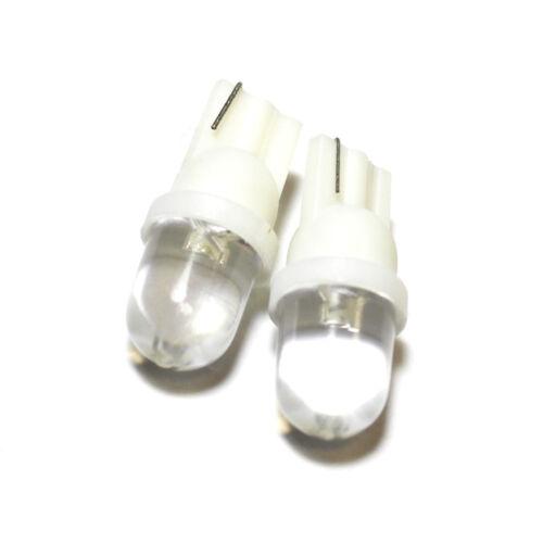 """Mg ZT LED Blanc /""""commerce/"""" grand angle côté faisceau lumineux ampoules paire mise à niveau"""