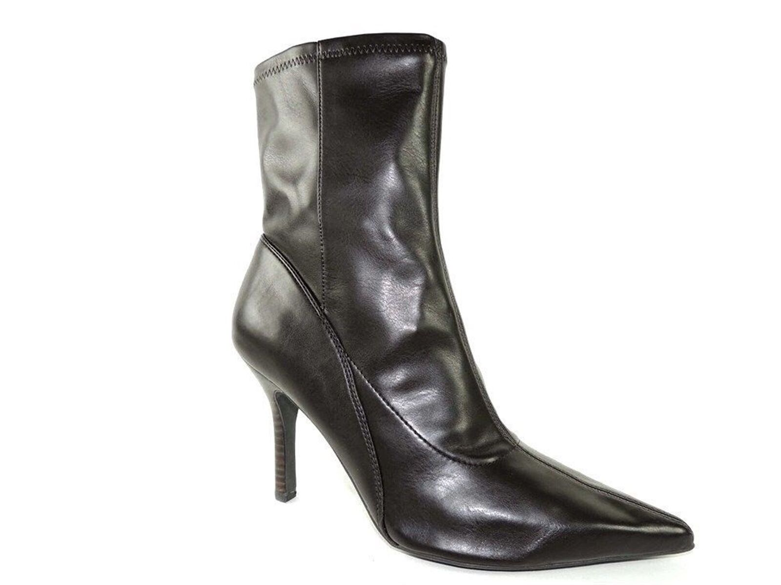 Nine West Women's Barkley-R Fashion Ankle Boots Brown Size 8.5 Narrow (AA, N)