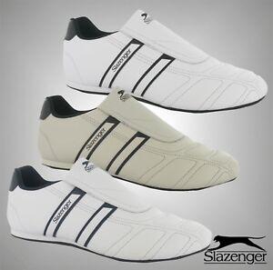 Mens-Slazenger-Slip-On-Fit-Warrior-Flexible-Trainers-Shoes-Sizes-UK-7-12