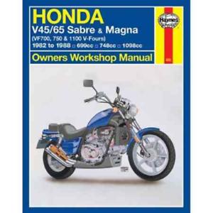 Haynes Workshop Manual Honda V45 V65 1982-1988 Sabre Magna VF700 ...
