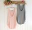 Fashion-Summer-Women-Sleeveless-Sexy-V-Neck-Vest-Blouse-Loose-Tank-Tops-T-shirt miniature 2