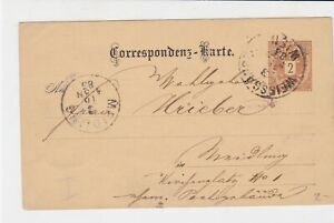 austria 1885  stamps card ref 20925