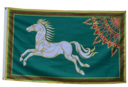 LotR Rohan 3 x 5 Flag Banner 3X5 Feet Green Fast USA Shipping New
