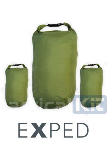 Pocket Liners Olive Green EXPED 100/% 140 Waterproof Bergen Liner