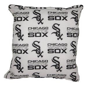 White-Sox-Pillow-Chicago-White-Sox-MLB-Pillow-Baseball-Pillow-HANDMADE-in-USA