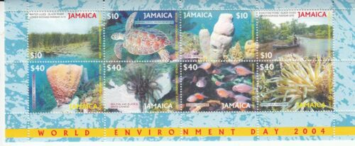 Jamaica 2004 World Environment Day Miniature Sheet unmounted Mint.