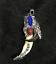 Tibetan antiques Wolf/'s teeth Bear claw Tibetan silver mosaic Red pine amulet