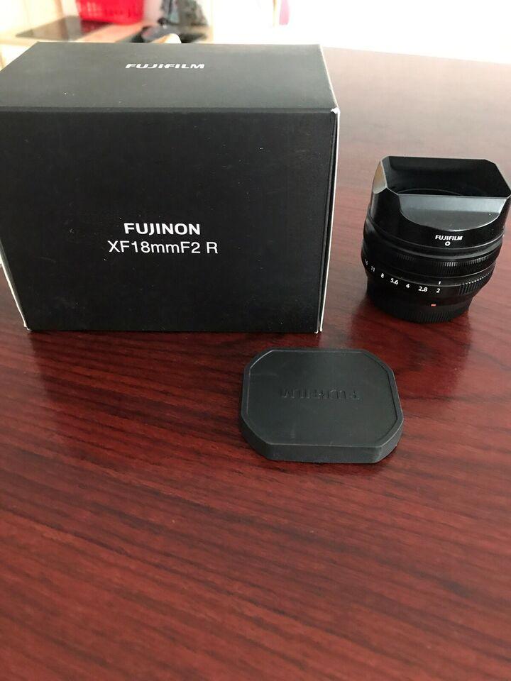 Prime, Fuji, XF 18mm f2 R