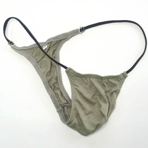 K208 C Homme S Mini Bikini Corde Taille Coton Fin Doux Lisse
