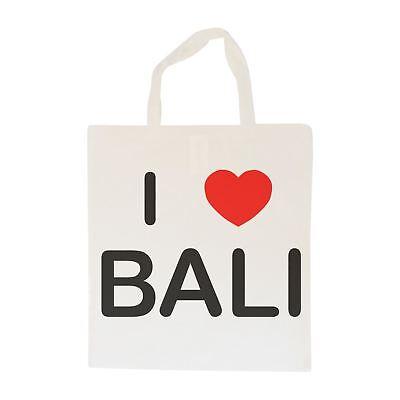 I Love Bali-borsa In Cotone | Taglia Scelta Tote Shopper, O Sling- Ultima Tecnologia