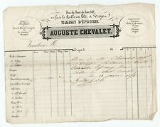1850 FACTURE A ENTETE EPICERIE TROYES AUBE