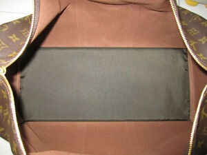 18d70438abe0 Dark Brown Base Shaper Liner that fit the Louis Vuitton Keepall 50 ...