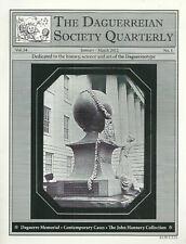 """THE DAGUERREIAN SOCIETY QUARTERLY VOL. 24 #1-5"" 2012 1ST PB VG DAGGUERREOTYPES"