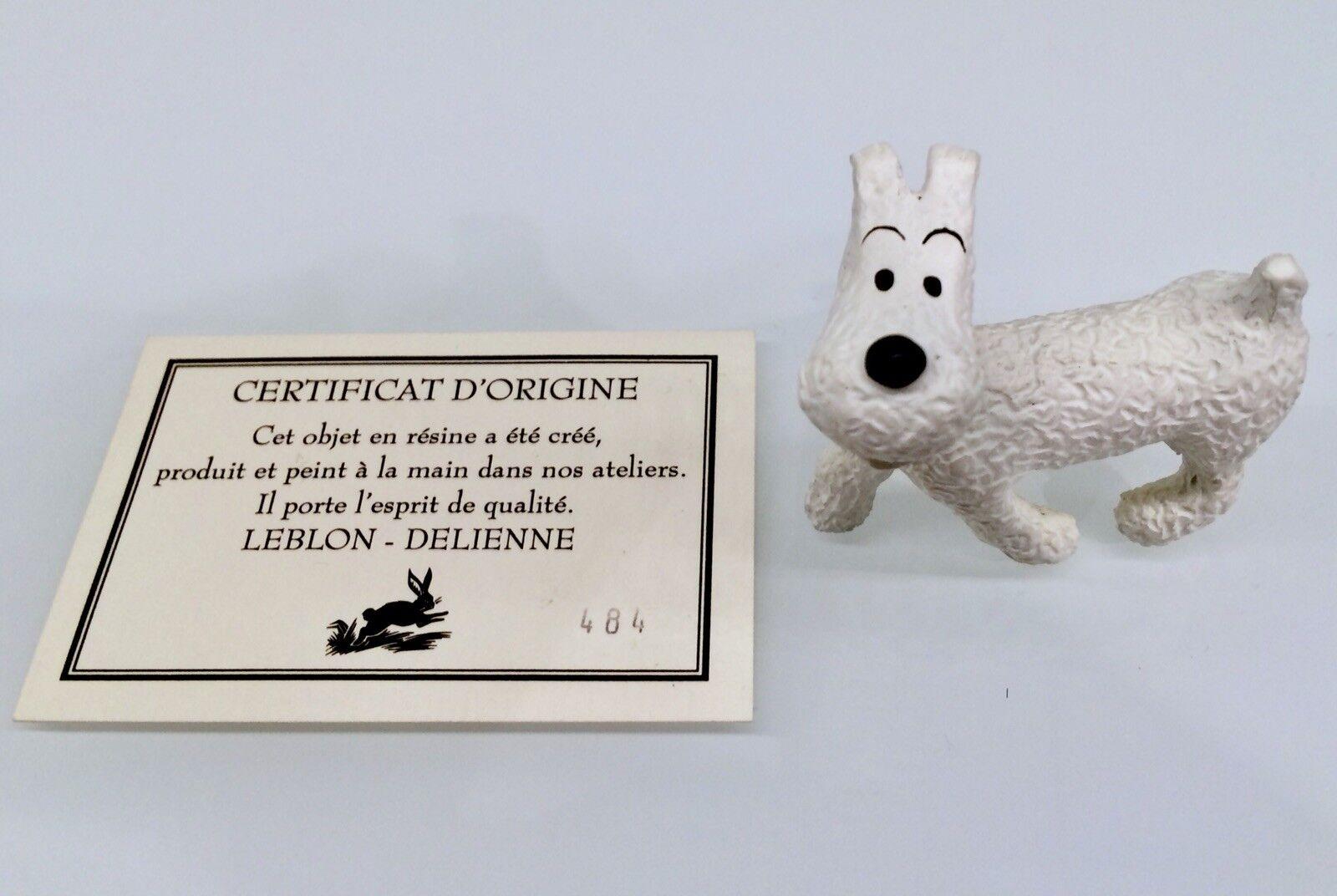 Tintin, Tintin-LEBLON-Delienne, Milou, N. 484