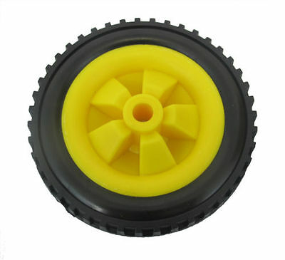 wheels with solid tractor tyre made in uk PAIR 146mm trolley  //fishing trolley