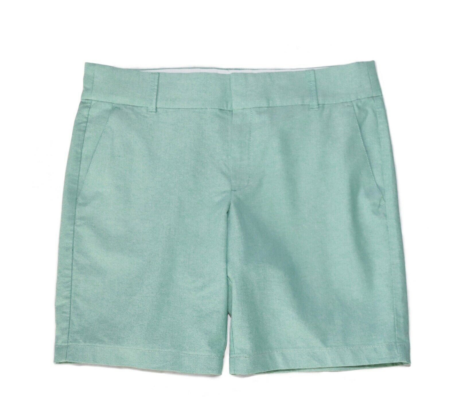 J.Crew Factory - Women's 8 - NWT - Green Oxford Bermuda Frankie Shorts  J0813