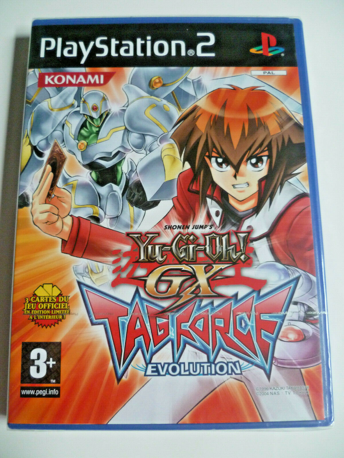 Yu-gi-oh  gx tag force evolution ps2 playstation 2 new FR version rare