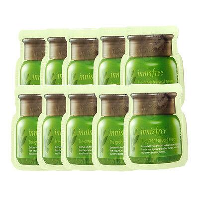 Innisfree Sample Green Tea Seed Eye Cream x 50pcs All Skin Types Face