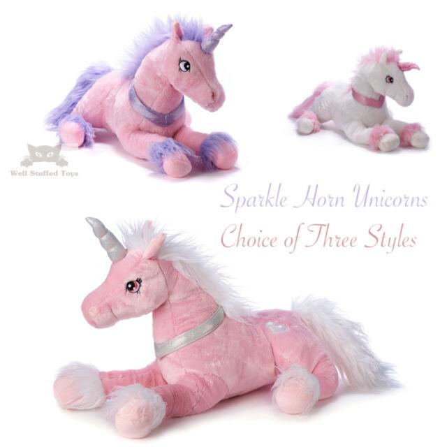Pets Unicorn Giant Soft Toy Plush Stuffed Teddy Xmas Gift UK 110cm New
