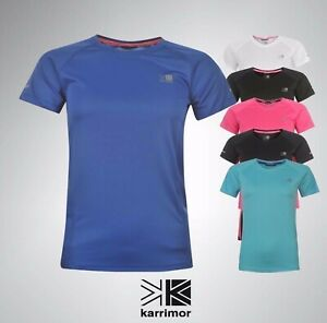 Ladies-Karrimor-Running-T-Shirt-Breathable-Short-Sleeves-Top-Sizes-6-16