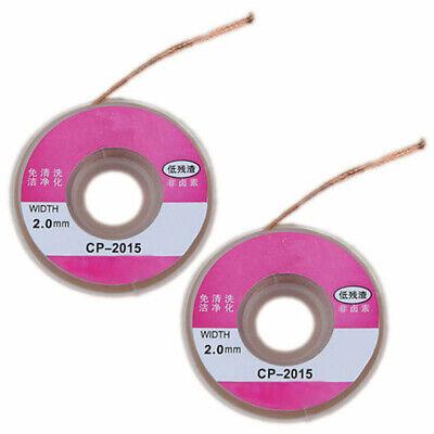 Lötkolben Löten Absauglitze CP-1515 Entlötlitze L1,5M 1,5mm Litze Sauglitze