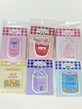 Sticky Note Zaomo Japanese Memo Pad Index Tab Sticker Cute Food Post It Lot Of 6