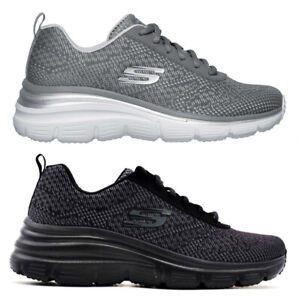 SKECHERS-12719-FASHION-FIT-BOLD-BOUNDARIES-Memory-scarpe-donna-sportive-sneakers
