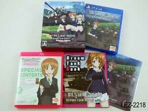 Girls-und-Panzer-Dream-Tank-Match-Premium-Edition-PS4-Playstation-4-Japan-Import