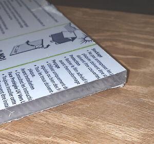 CNC WORK! Clear Polycarbonate Sheet 1//4 Lexan Makrolon