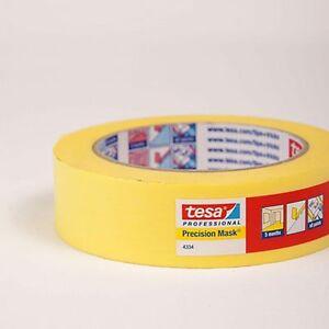 tesa pr zisionskrepp 4334 gelb 50mm klebeband malerkrepp abklebeband ebay. Black Bedroom Furniture Sets. Home Design Ideas