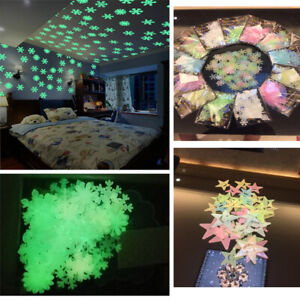 The-In-Room-Moon-Dark-Stickers-Glow-Luminous-Wall-Star-Kids-Decor-Stars