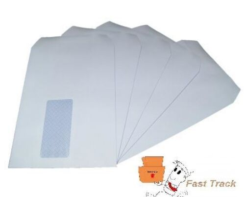 C5//A5 WINDOW  WHITE SELF SEAL ENVELOPES 229mm x 162mm FREE DELIVERY 24H!!!