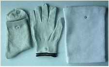 Conductive Electrode Massage Gloves & Socks & Kneepads Use for TENS/EMS Units