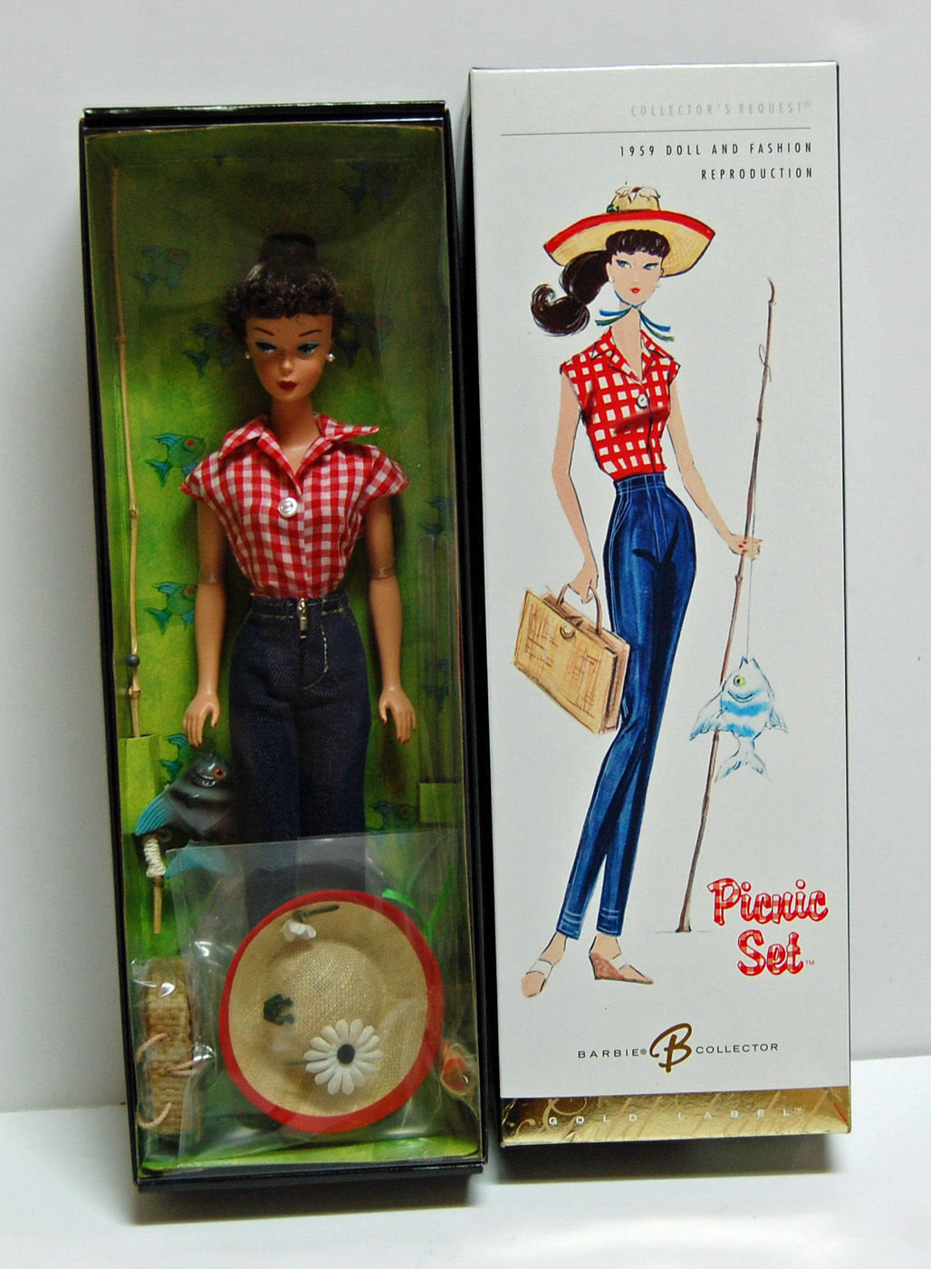 2005 Set Picnic Barbie Repro