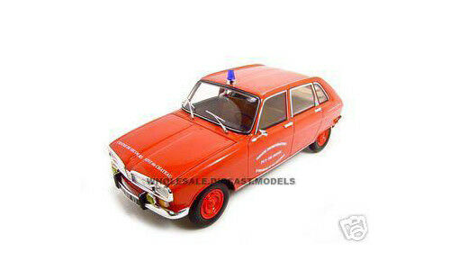 RENAULT 16 FRENCH FIRE 1:18 DIECAST MODEL CAR BY NOREV 185126