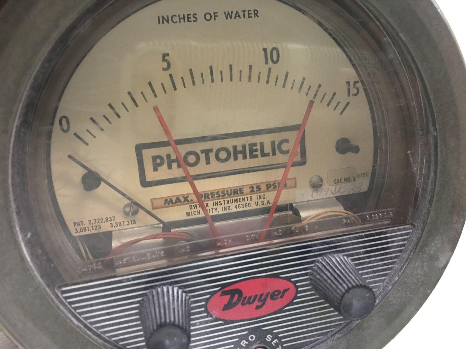 Dwyer Photohelic Unit Circuit# HH 120 VAC 5 Watts