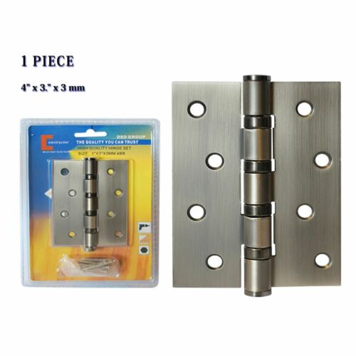 "/""CONSTRUCTOR/"" Oil Satin Nickel  Door Hinge 4/"" x 3/"" Ball Bearing 6 10 12 18 24 40"