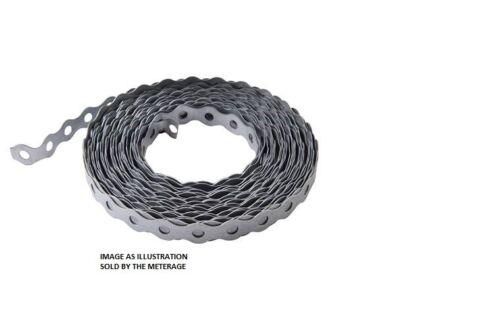 GALVANISED FIXING BAND 12MM CHOICE OF QTY /& LENGTH