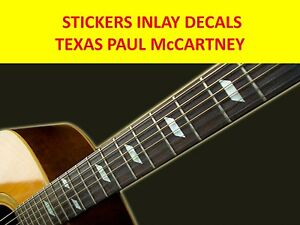 Brillant Stickers Inlay Texas Paul Visit Our Store With Many More Models CaractéRistiques Exceptionnelles