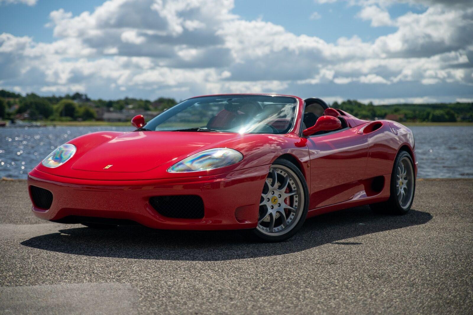 Ferrari 360 3,6 Spider F1 2d