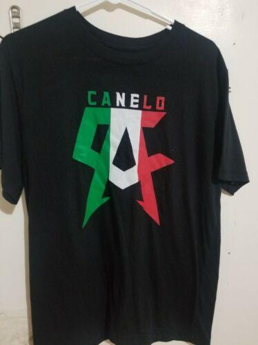 TEAM CANELO Unisex MEDIUM T shirt Mexico flag Saul