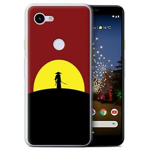 Gel-TPU-Case-for-Google-Pixel-3a-Minimalist-Movie-Art-Last-Samurai-Inspired