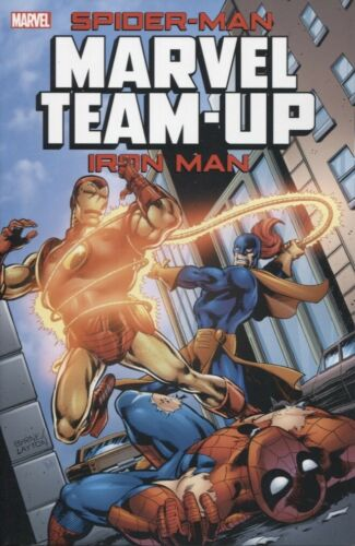 SPIDER-MAN IRON MAN MARVEL TEAM-UP TPB MARVEL NEW//UNREAD