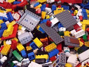 2 POUNDS LEGO'S! Bulk lot Bricks parts pieces Lego & 15 minifigures /w wheels